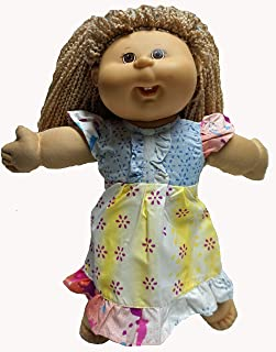 Doll Clothes Superstore Versatile Splash Nightgown Fits 18 Inch Girl 15-16 Inch Baby and Cabbage Patch Kid Dolls