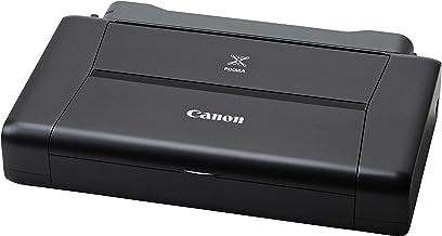 Canon PIXMA iP110 Akku- Impresora de tinta portátil (9.600 x 2.400 dpi, USB, WLAN, Pixma Cloud-Link, Apple AirPrint), negro