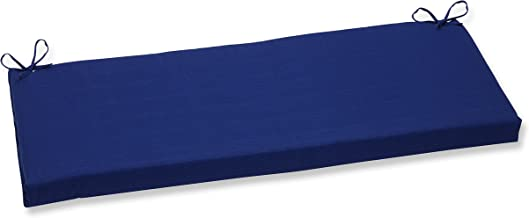 Pillow Perfect Indoor/Outdoor Fresco Bench Cushion, Blue