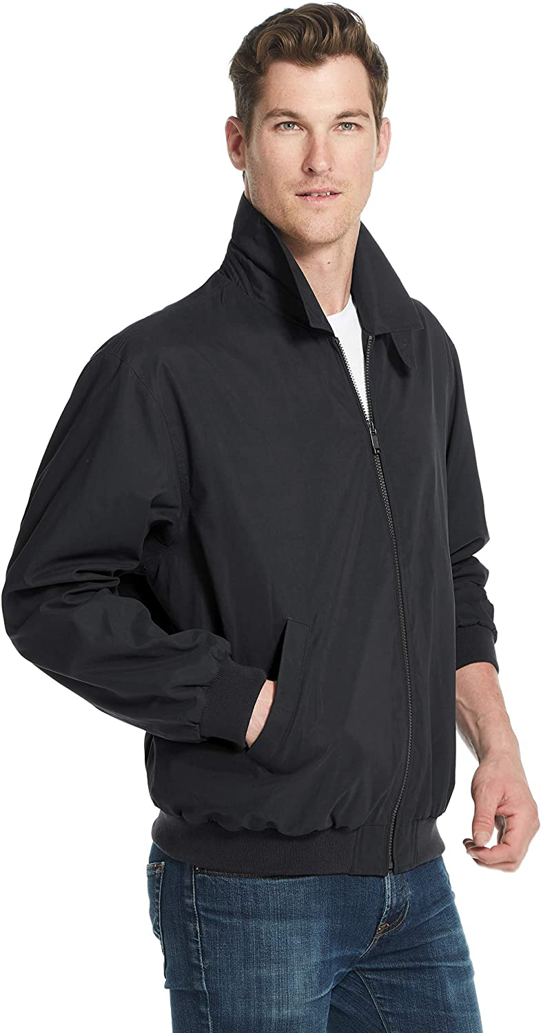 Weatherproof Garment Co. Men's Jacket Golf Same day shipping Microfiber Excellent Classic