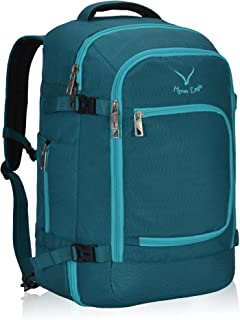 Hynes Eagle Travel Backpack 40L for Women Flight Approved Carry on Backpack Teal