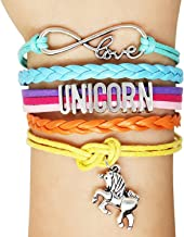 Kiki Girls' Charm Bracelets | Horse Jewelry -Horse Charm Bracelet for Girls with Letter Charm