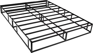 AmazonBasics Mattress Foundation / Smart Box Spring for Queen Size Bed, Tool-Free Easy Assembly - 9-Inch, Queen