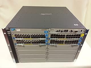 HP J8700A ProCurve 5412zl E5412-96G zl switch 4x J8702A PoE 2x J8712A PSU J8698A