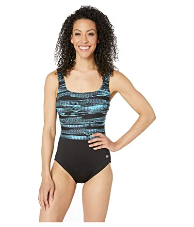 TYR Scoop Neck Control Fit One-Piece (Bryon Bay) Women
