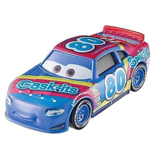 Disney Pixar Cars petite voiture Rex Revler bleue, jouet pour enfant, DXV56
