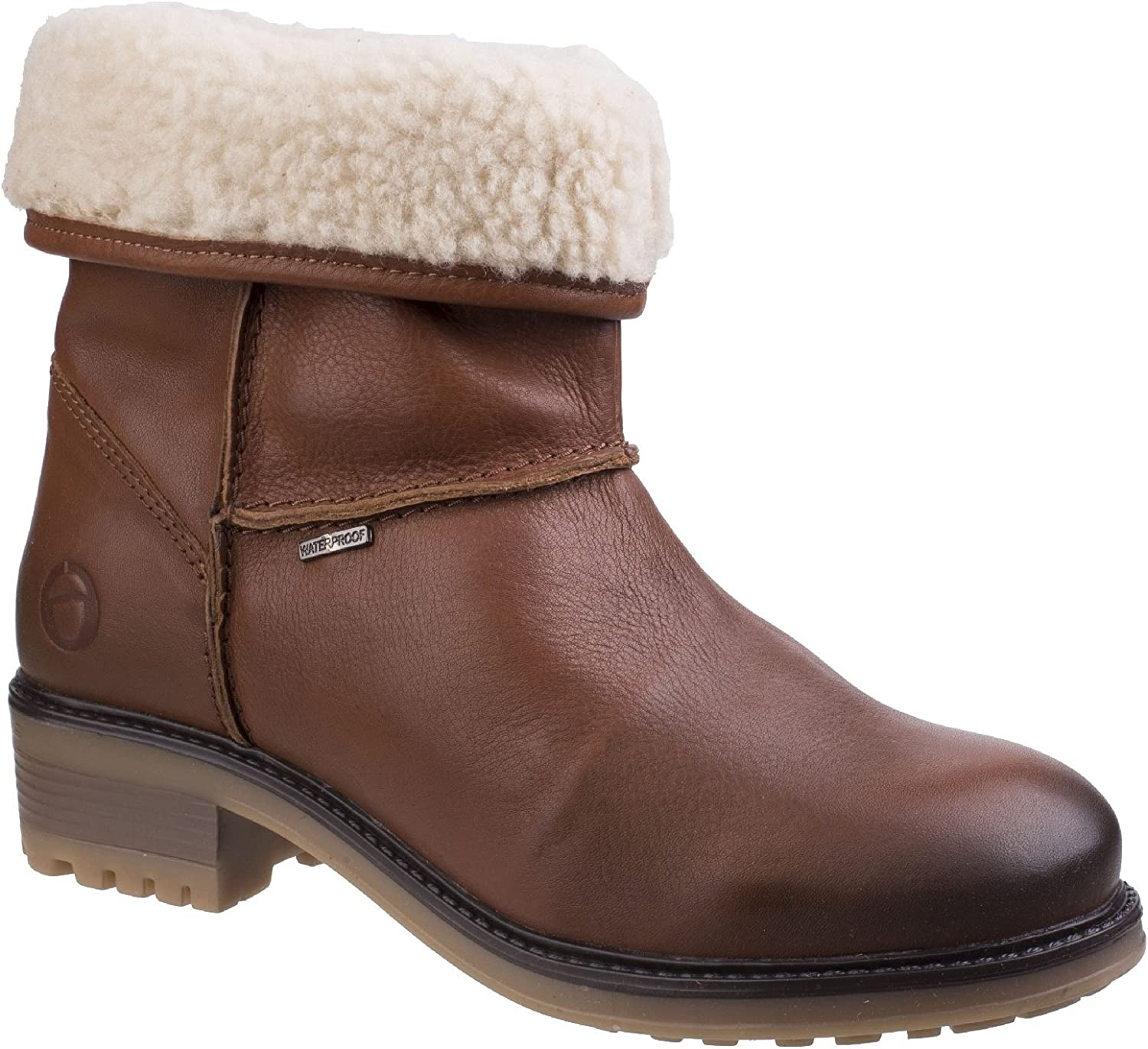 Cotswold Womens Bampton Waterproof Boot Tan Size UK 8 EU 41