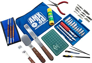 کیت ابزار چاپگر 40 قطعه 3D - همه ابزارها و لوازم جانبی چاپ 3D برای پاک کردن ، تمیز کردن و پایان دادن به چاپهای سه بعدی مورد نیاز - جعبه ابزار شامل اسپاتول ها ، انبردستها ، موچین ، Scraper و موارد دیگر - چاپ مانند یک نرم افزار