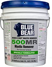 blue bear mastic remover