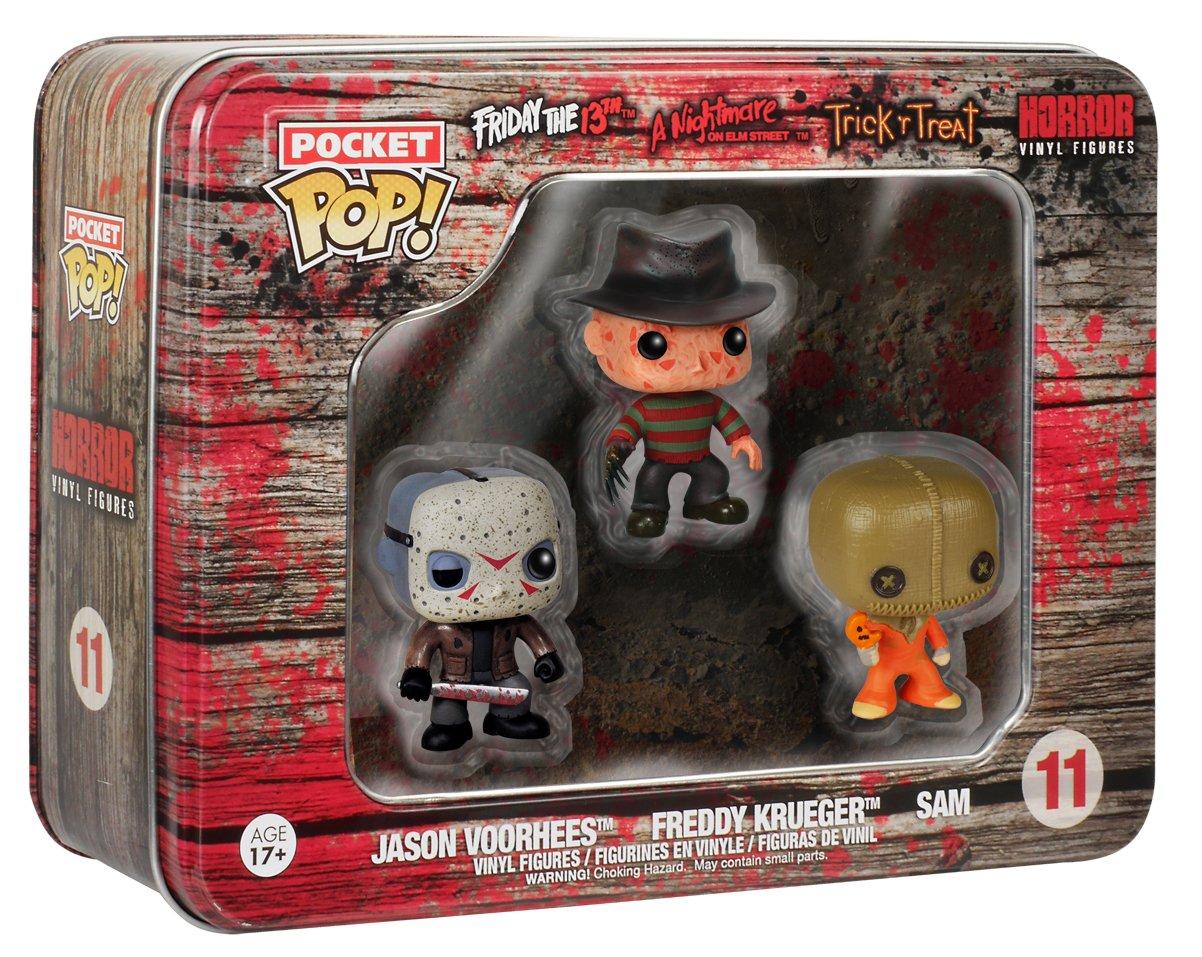 Funko 599386031 - Pack 3 Figuras Set Horror 2 (3,75 cm): Amazon.es: Juguetes y juegos