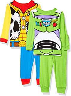 Boys' Toy Story Uniform 4-Piece Cotton Pajama Set