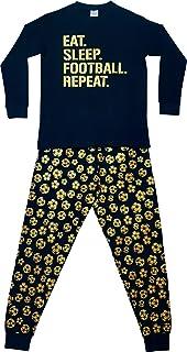 The PyjamaFactory Emote Legend Dance Gaming all Over Gaming Nero Oro Cotone Pigiama Corto