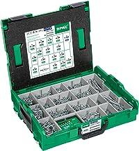 Spax L-BOXX Montagekoffer, Groot, Wirox A3J, T-Star Plus, Verzonken Kop, 16 Afmetingen, 2446 Stuks, Incl. Spax Bitcheck, 5...
