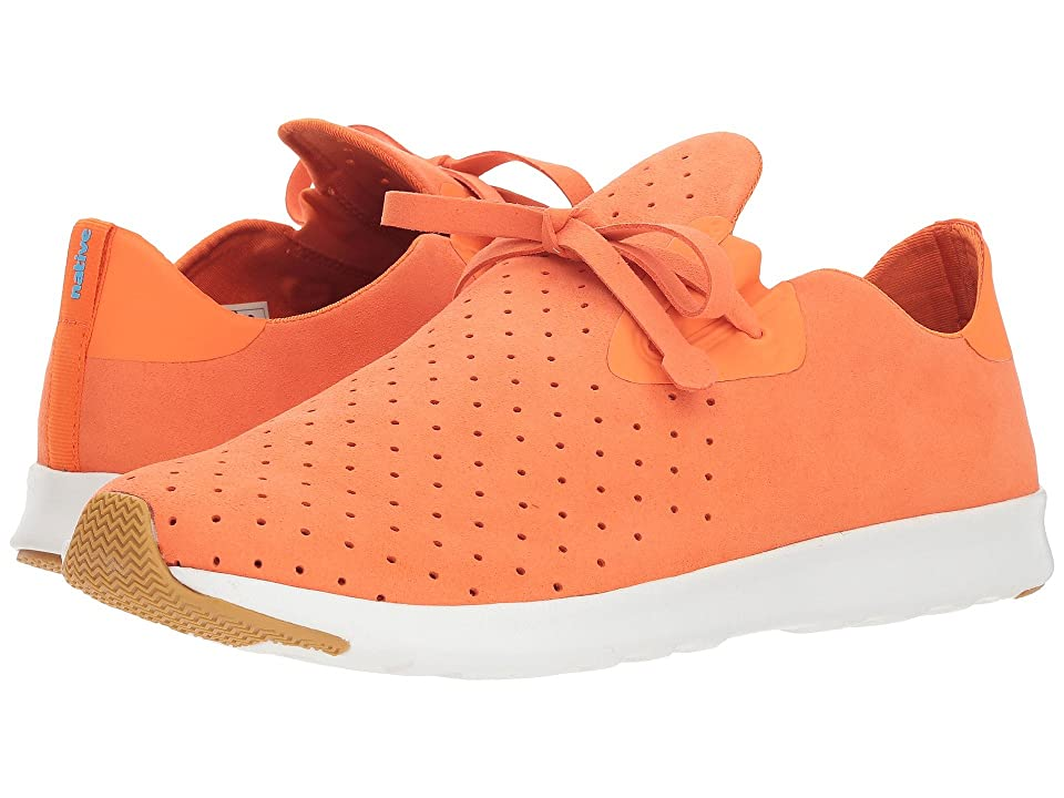 Native Shoes Apollo Moc (Sunset Orange/Shell White/Natural Rubber) Shoes