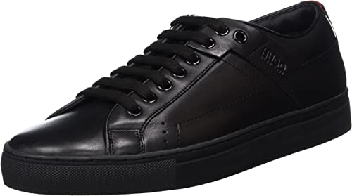 HUGO Futurism_Tenn_lt, Hauszapatos para Hombre, negro (negro 2), 45 EU