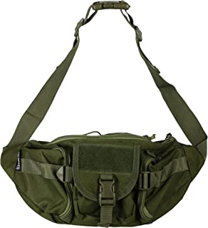 OSAGE RIVER Fishing Tackle Bag, Waist Fanny Pack Portable Storage, Crossbody Sling Bag