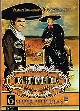 DOS VERDADEROS IDOLOS ANTONIO AGUILAR Y VICENTE FERNANDEZ [6 SUPER PELICULAS] YO EL AVENTURERO & LA HUELLA DEL CHACAL & LA GUARIDA DEL BUITRE & EL SINVERGUENZA & TODO UN HOMBRE & ENTRE COMPADRES TE VEAS