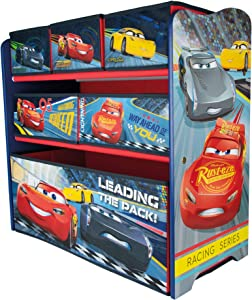 URBN Toys Drawer Disney  amp  Marvel Wooden Rack Organiser cm  Toy Storage Boxes Options Available  Cars