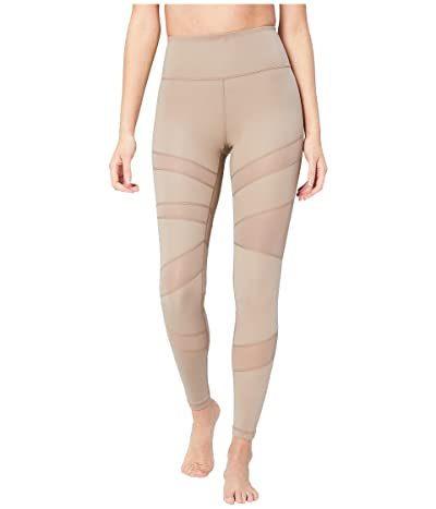 Core 10 Icon Series The Warrior Mesh Leggings (Taupe) Women