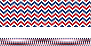 Edupress Patriotic Chevron Straight Border Trim (EP63274)