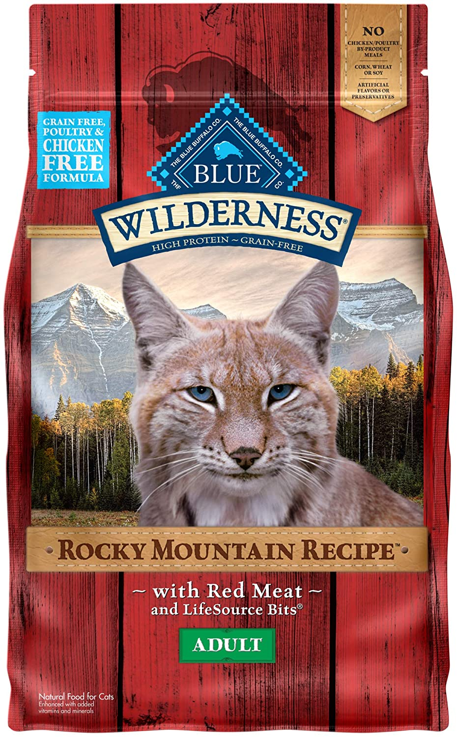 Blue Buffalo Wilderness Rocky Mountain free High Grain Protein Free shipping on posting reviews Recipe