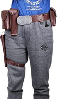 Pluscraft Luke Belt Holsters Cosplay Adjustable Costume Accessories Props PU Resin