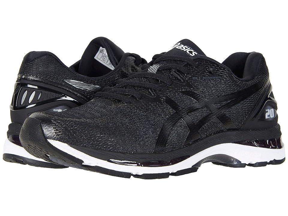 ASICS GEL-Nimbus(r) 20 (Black/White/Carbon) Men