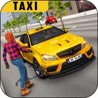 Mobile Taxi Simulator: Taxi Driving Games