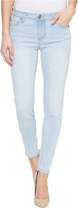 Liverpool - Abby Skinny Vintage Super Comfort Stretch Denim Jeans in Boulder Bleach Out