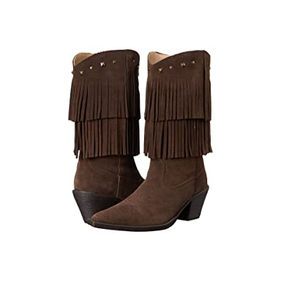 Roper Short Stuff (Brown) Cowboy Boots