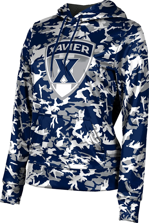 ProSphere Xavier University Girls' Pullover Hoodie, School Spirit Sweatshirt (Camo)