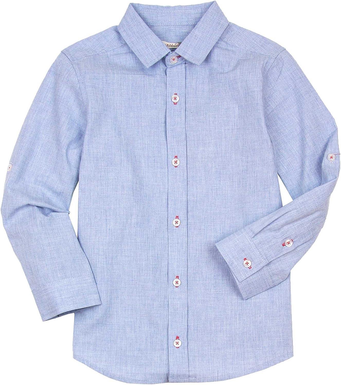 Deux par Deux Boys' Long Sleeves Shirt Pirates in The Zone, Sizes 5-12