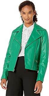 Best ralph lauren women's leather moto jacket Reviews