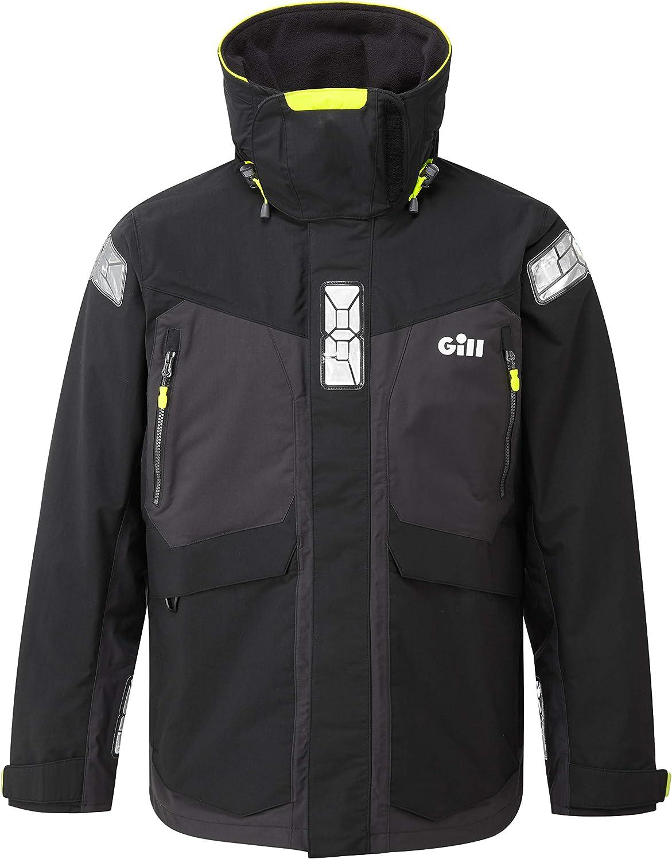 GILL OS2 Offshore Men's Jacket - Waterproof, Windproof & Breathable Black