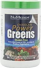 NuMedica - Power Greens Chocolate - 300 Grams / 30 Servings