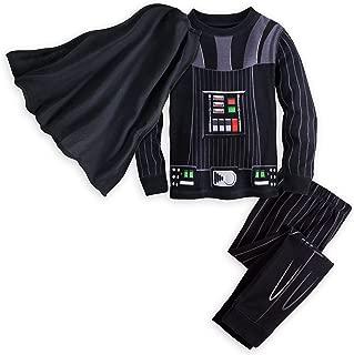 Darth Vader Costume PJ PALS Pajamas for Boys Size 8 Black