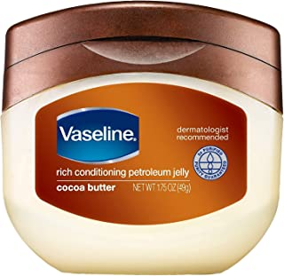 Vaseline Petroleum Jelly, Cocoa Butter, 7.5 oz, 2 pk