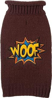 Fab Dog Rollneck Knit Dog Sweater Woof Comic