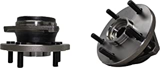 Brand New (Both) Front Wheel Hub and Bearing Assembly for 1999-04 Jeep Grand Cherokee 5 Lug (Pair) 513159 x2
