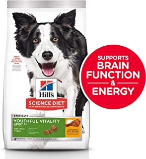 Hill's Science Diet Dog Food, Adult 7+ for Senior Dogs, Youthful Vitality