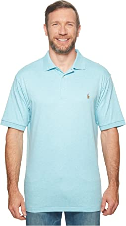 Big & Tall Pima Polo Short Sleeve Knit