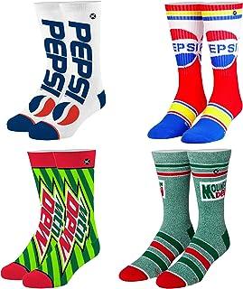 Odd Sox, Unisex, Food, Snacks & Drinks, Crew Socks, Novelty Funny Cool Silly