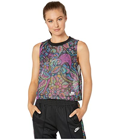 Nike NSW FTR Femme Tank All Over Print (Black) Women
