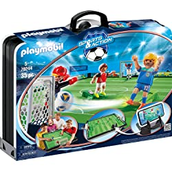 PLAYMOBIL Sports & Action Campo de Fútbol Maletín
