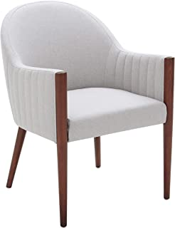 Rivet Contemporary Curved-Back Dining Chair, 35
