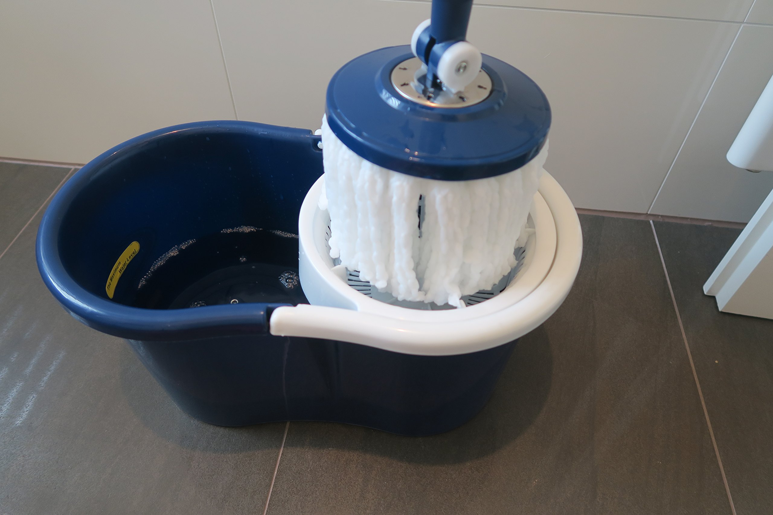 CleanAid Recambio de la Cabeza de la Mopa de Microfibra de ...