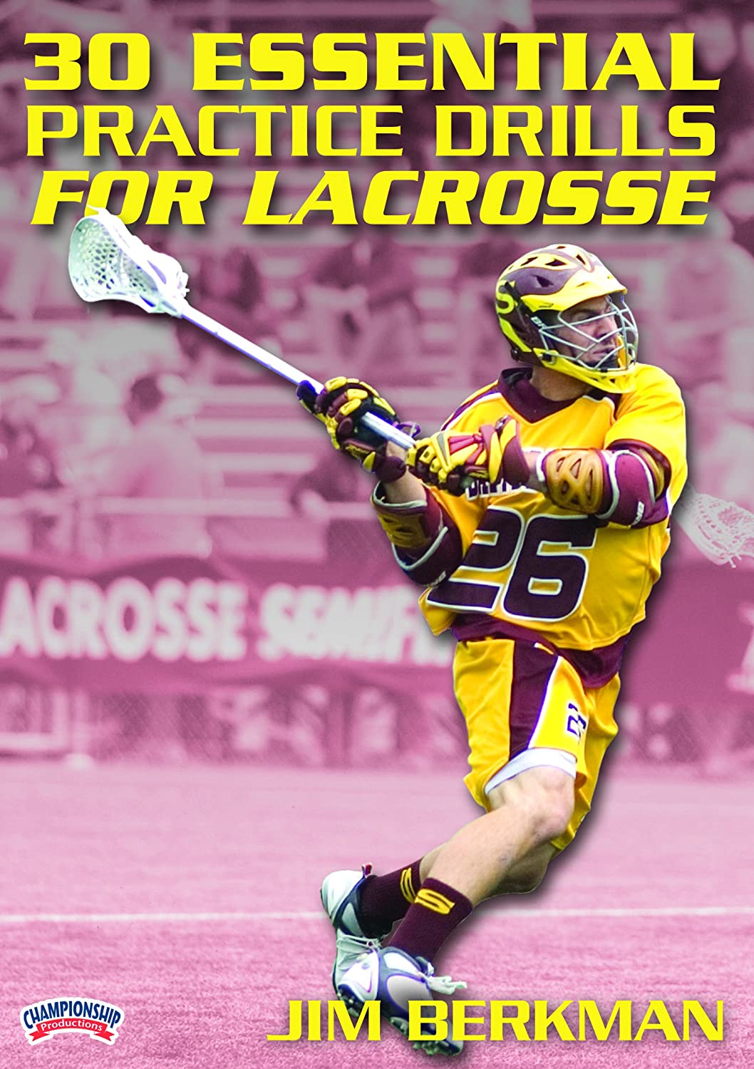 Jim Berkman: 30 Essential Practice DVD Lacrosse Drills for Purchase sold out