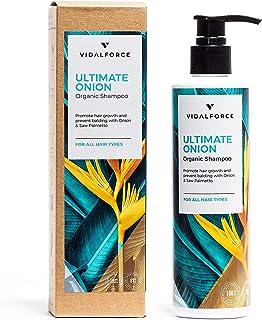 OSTATECZNA CEBULA. Szampon cebulowy z 22 naturalnymi i organicznymi składnikami aktywnymi - pełen witamin do włosów i natu...