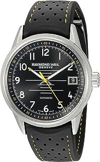 Raymond Weil - Raymond Weil Freelancer Reloj de hombre automático 42.5mm de goma 2754-SR-05200