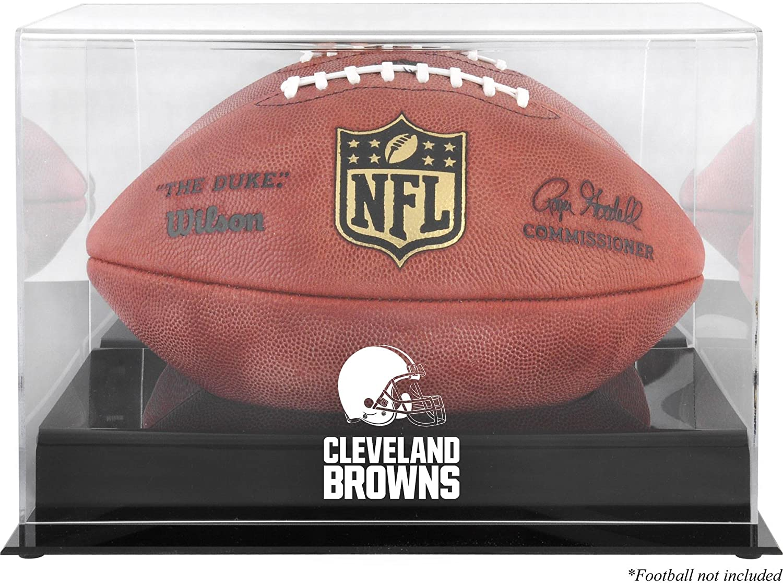 Cleveland Browns Black 55% OFF Base Football wholesale Case - Display Log